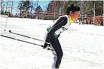 冬の草津高原ゴルフ場のイメージ