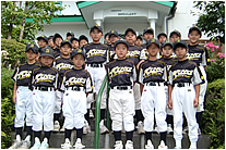 野球の合宿のイメージ