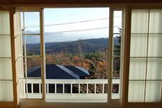 和室(8畳)からの眺めのイメージ